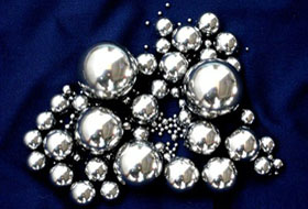 Galvanized steel ball